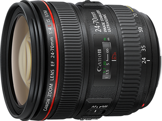 Canon EF 24-70mm f/4 L  IS USM Preview