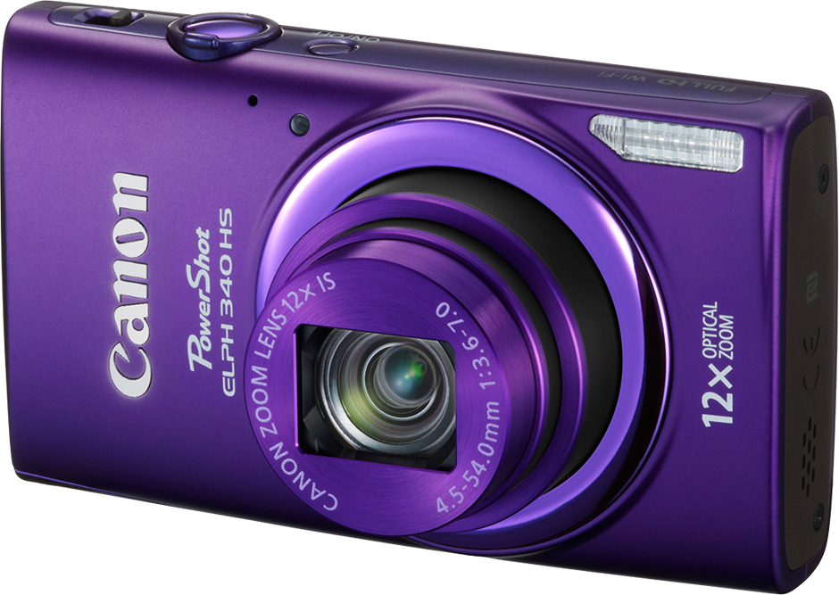 Small Cameras Large Zoom Canon S New Powershot Elph 340