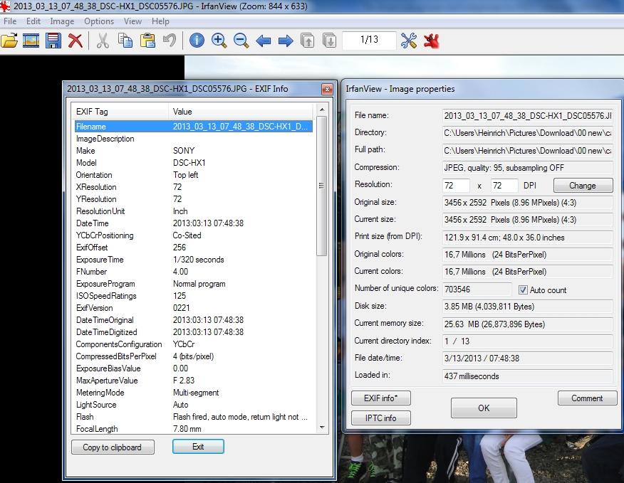 Copying EXIF 'date taken' to Windows file name: PC Talk Forum