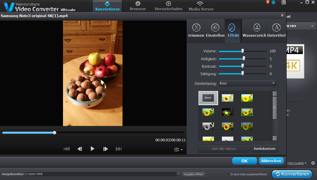 How to rotate 4k video file without much quality lost digital view original size ccuart Images