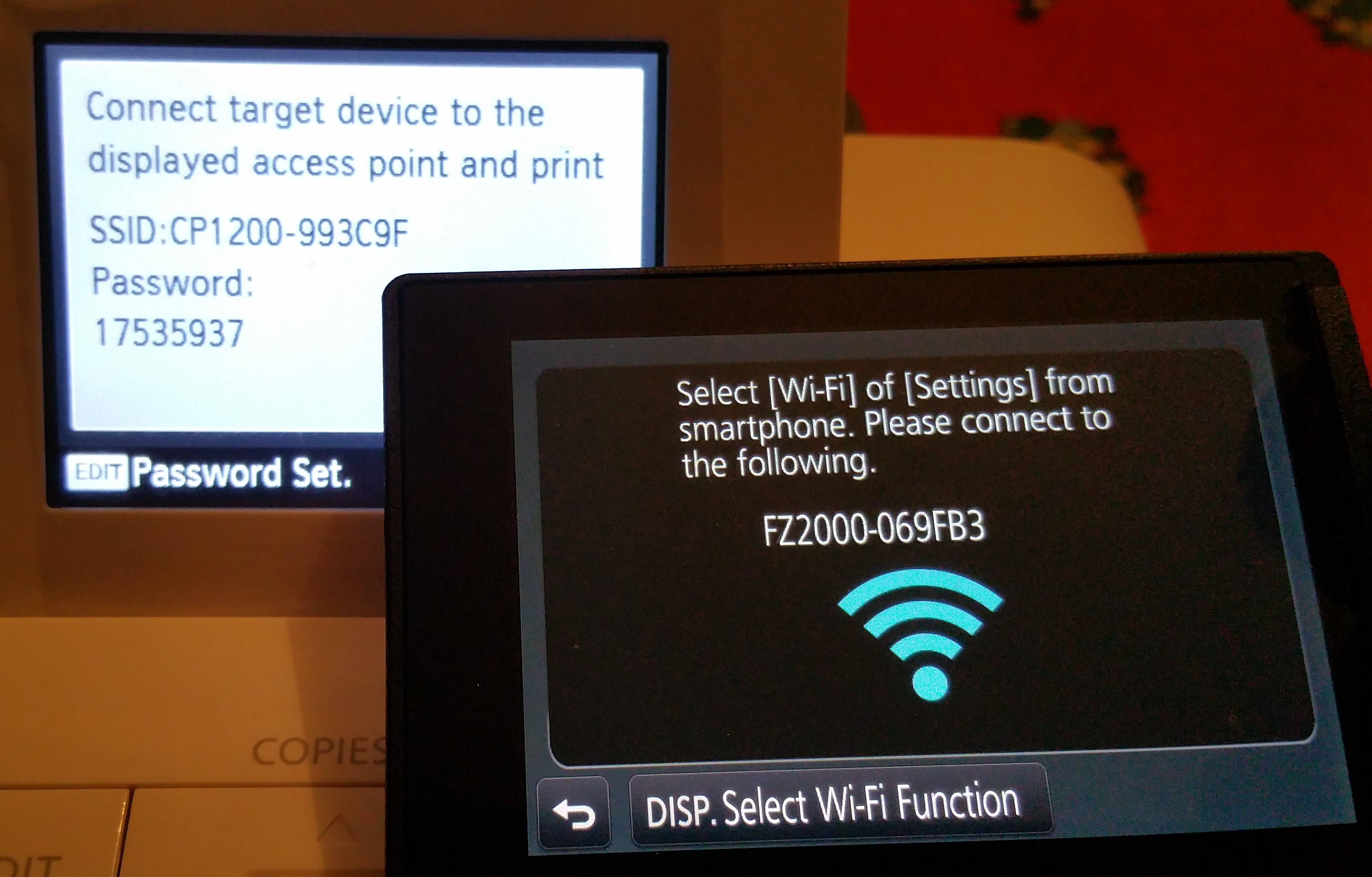 What you can and what you cannot do with FZ2000 Wifi