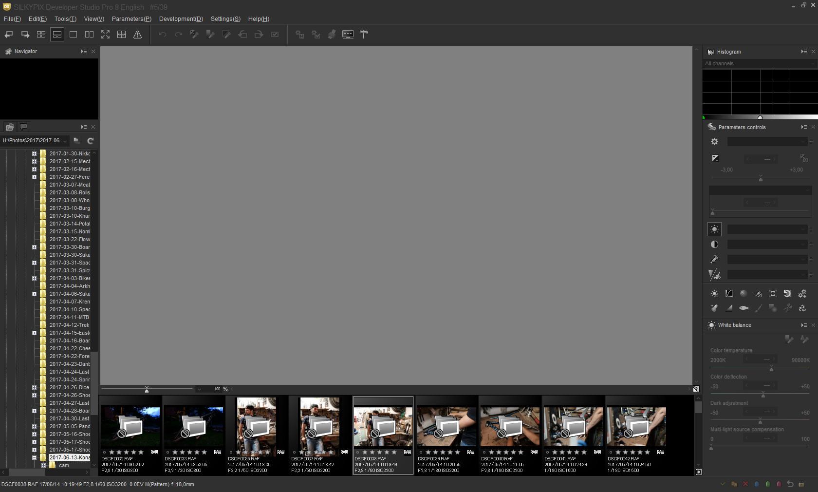 Raw File Converter EX2 0 and  raf from Fujifilm XT20: Fujifilm X