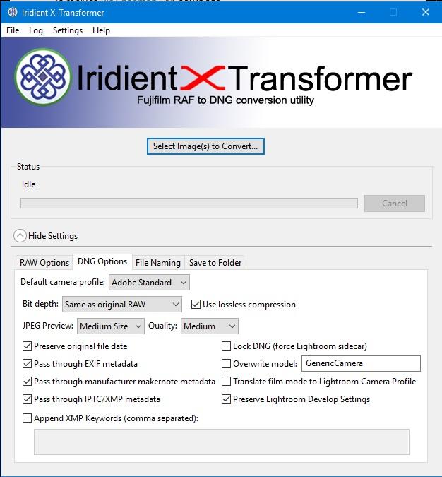 JPG and RAF editing on Windows: Fujifilm X System / SLR Talk Forum