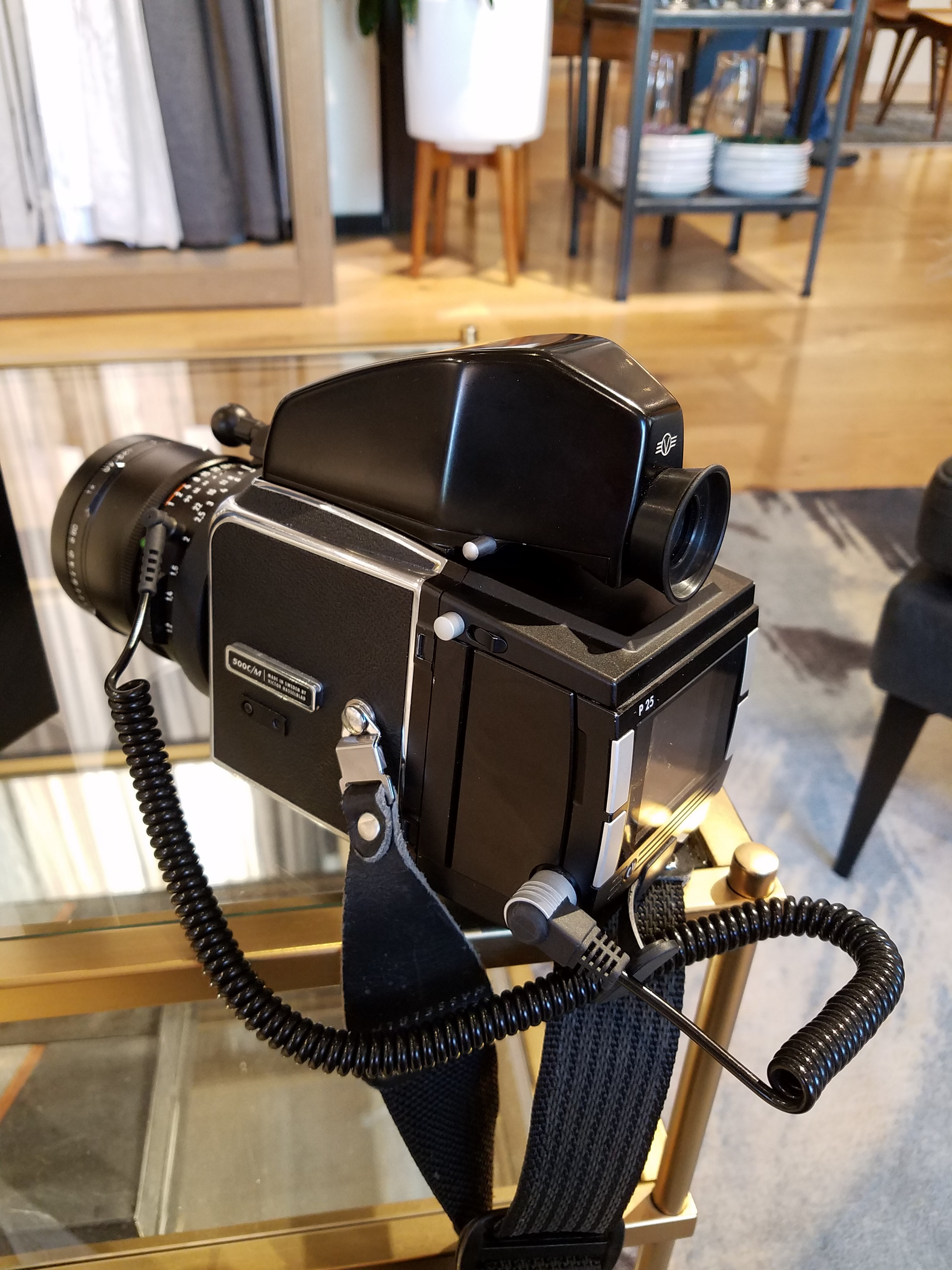 Hasselblad 500c/m with a Phase One back: Medium Format Talk
