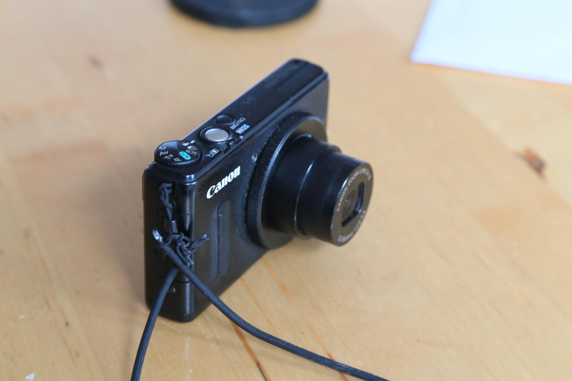 Powershot S100 Strange Lens Error Cannot Fix It Canon PowerShot
