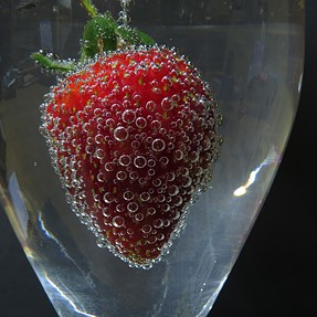 Strawberry extracted with Topaz