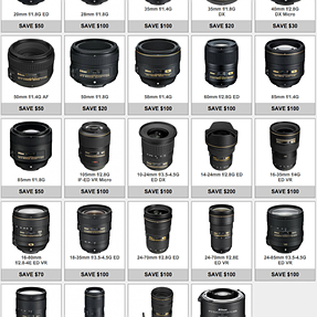 "Nikon's ""lens only"" rebates are back"