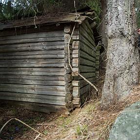 Idfjärdsvallen - old summer farm