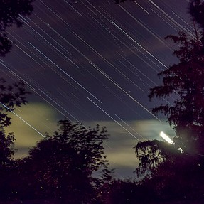 Live Composite Star Trails