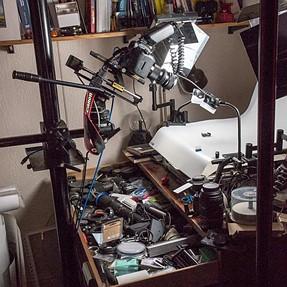 Raiding the 'junk box' - a telecentric macro