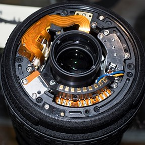 14-54mm 4/3 lens disassembly, dismantling or repair....