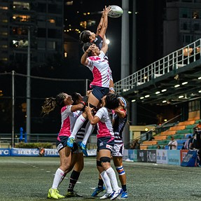 Asia Rugby 7s Series 2016 Japan 28:0 Hong Kong