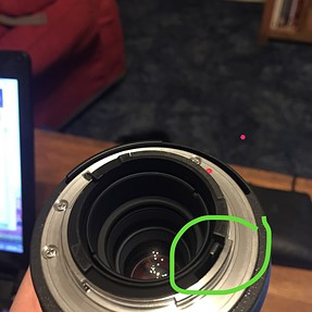 Sigma 2x Teleconverter - is it broken? What is this part? [img]