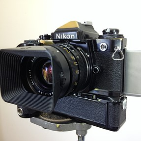 "Converting SLR's to ""Electric Film"" with digital back."