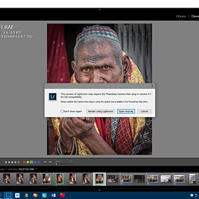 Problems with Lightroom 6