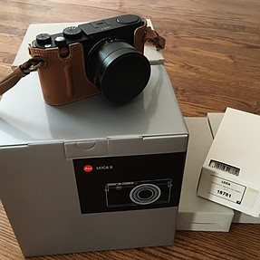 FS: Leica X Typ 113 with Extended Warranty and Accessories