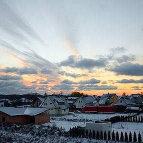 Winter in CPA lens