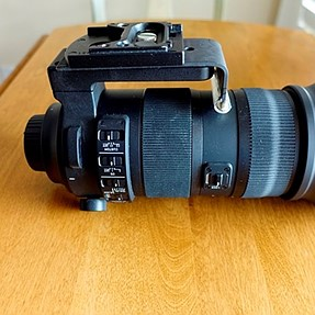 Kirk bracket to stabilize the Sigma 150-600mm lens?