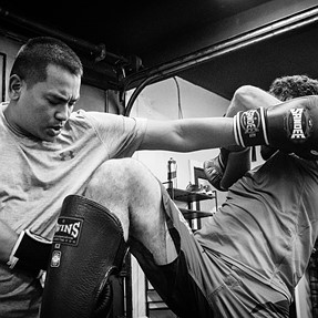 My latest gallery from Pentagon MMA gym