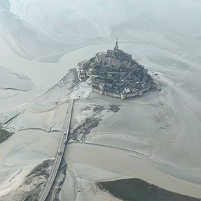 Mont Saint Michel has recovered its island status...