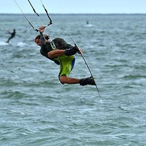 Kite Surfing + D500 + Nikon 200-500mm f/5.6E ED VR = Fun