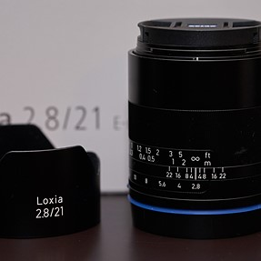Zeiss Loxia 21mm f2.8 & Canon FD 55 f1.2 SSC