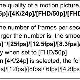 Time Lapse settings, & general tips - Panasonic GX8