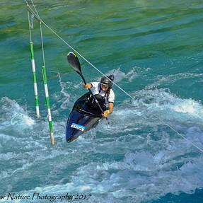 Fuji HS50EXR Doing Whitewaters (Canoe Slalom Training)
