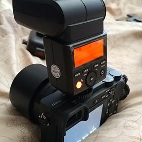 Godox TT350s Flash (Sony Mi) & Godox  X1T-S Wireless Trans. for Sony Mi