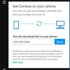 Getting rid of Cortana screen