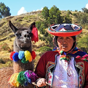People pictures from Peru