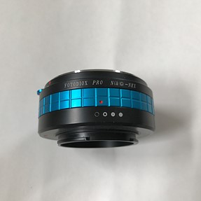 SOLD! FOTODIOX PRO Nik(G)-NEX E-Mount adapter- $20 plus shipping
