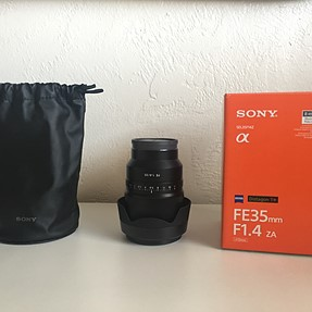 WTS: Sony Alpha sel35f14z & sel55f18z