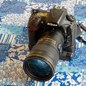 Mint Nikon D810 with DSTE battery grip, low shutter actuations