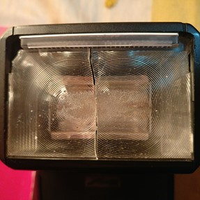 Fresnel Lens Plate replacement for Metz 50 AF-1, flash gun