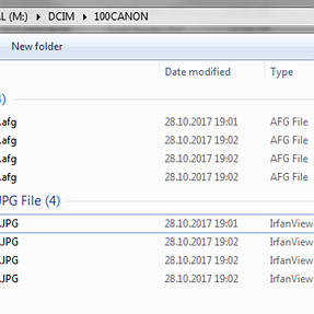 800D creating .aeg, .afg and .gro files on memory card - what?