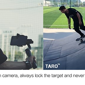 As a skateboarder, auto-tracking is amazing!