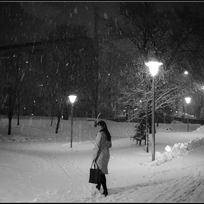X10, winter, woman
