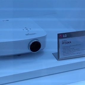 LG PF50KA - potentially the best mobile projector for MACs coming