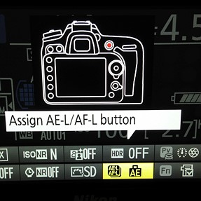 D7100 Info screen issue
