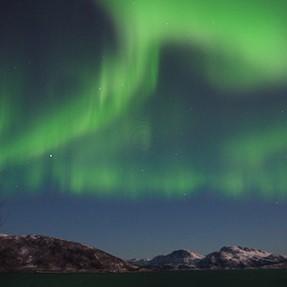 Strange rings within liveview image of Aurora Borealis