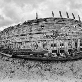 The boat cemetery revisited...