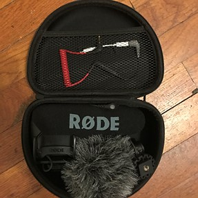 A Case suggestion for Rode Videomic pro plus VideoMicro