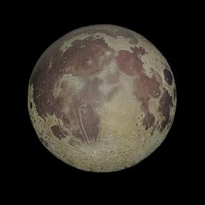 Moon shot from Houston