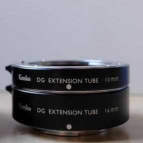 Kenko Extension Tubes for MFT (10mm and 16mm) $55