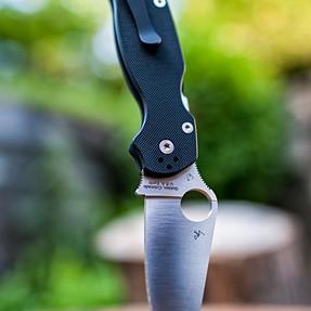 New knife, old faithful lens