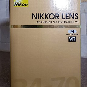 Nikon AF-S NIKKOR 24-70mm f/2.8E ED VR, I am leaning toward returning it.