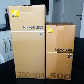 500 5.6 pf vs 200-500 f.6 size comparison