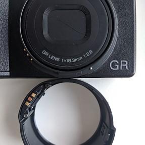 Ricoh GA-1 Lens Adapter for GR III - Bayonet