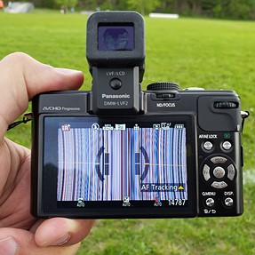 Help - This just happened to my LX-7. Is it finished?